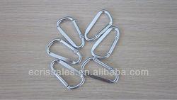 aluminum,metal carabiner