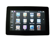 Portable Car GPS Navigation, 4.3 inch Touch Screen, Built-in 64M RAM, Support ASF/AVI/ WMV/3GP/MP4/FLV, SC GND-4388