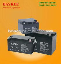 Maintenance-free Lead-acid (7AH/12V--200AH/12V)UPS Inverters Batteries