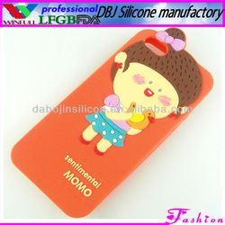 Cheap Silicone Mobile Phone Cases for iphone4/4s/5