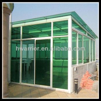 Outdoor aluminum sunlight glass room