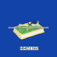 Polyresin sports cake toppers birthday cakes