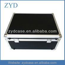 Aluminum Printer Case Black Printer Case with foam ZYD-GJ257