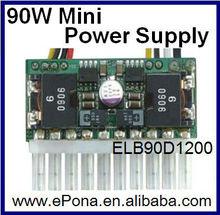 90W mini power supply/mini atx psu/micro atx power supply ELB90D1200