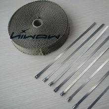 best titanium exhaust heat wrap factory