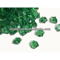 Dark green acrylic ice cube ornament for wedding favor