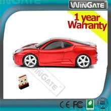 MiniCute DriftX 2.4 Ghz Wirel ess Car Mouse for PC / MAC with NANO USB Receiver