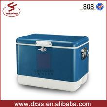 54L Multifunction Beer Retro Outdoor Cooler Chest Steel Cooler (C-013)