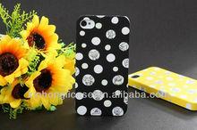 Latest design for iphone 4 / 4s plastic luminous mobile phone case