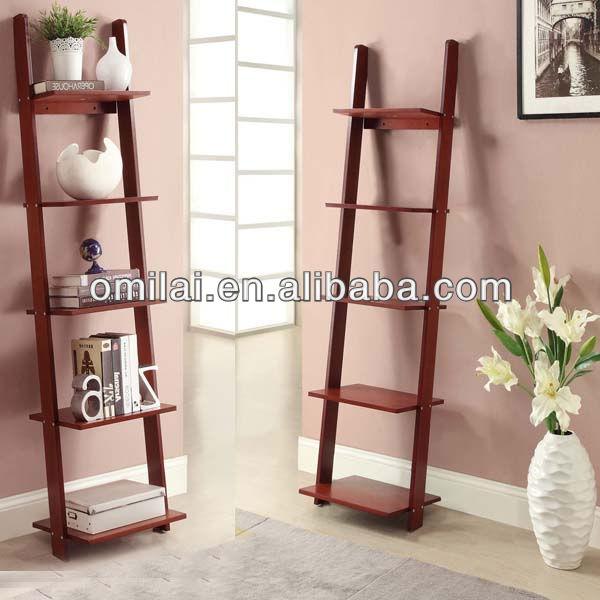 Pared estanter a escalera armarios de madera - Estanteria escalera ikea ...