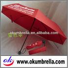 3 Folding umbrella/Logo change color when wet