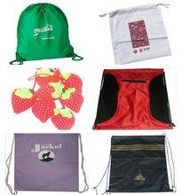 cheap polyester drawstring bag