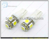Top Seller T10 194 168 W5w Wedge 5 Smd 5050