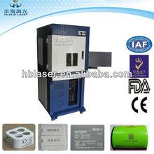 Photos Printer 20W Fiber Laser Printing on Metals and Hard Plastic
