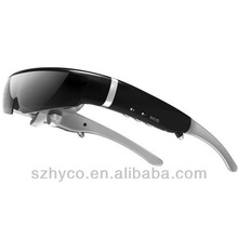 Newest 98 inch Virtual Screen 3D Video Glasses,Support 720P HD,Built in 8GB