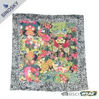 fashion printed latest cotton shawl design