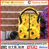 professional red 1680D women camera bag