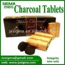 2013 Arab Shisha charcoal 40mm hard wood