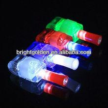 Magic laser projector finger ring led light
