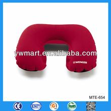 Inflatable pillow cushion, U-shape promotinal inflatable pillow cushion