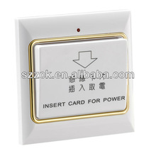 internet controlled and Energy Saving systematic power switch for electronic hotel locks