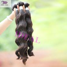 Virgin indian hair loose wave guangzhou hair extension factory
