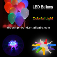 Colorful flashing led ballon party light