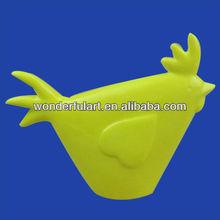 decorative custom ceramic chicken