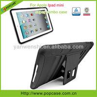 tabelt case For Apple Ipad mini PC Silicone case with kickstand