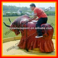 Zhengzhou manufacturer inflatable mechanical bull for sale