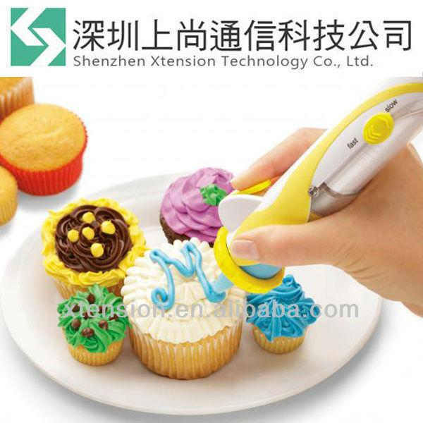 น้ำตาลปากกาdeco6เคล็ดลับการตกแต่งที่ดำเนินการแบตเตอรี่- เท่าที่เห็นในทีวี