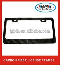 Carbon Fiber Custom License Plate Frame for Auto-Car-Truck