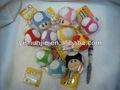 Caliente la venta del nuevo super mario bros mushroom felpa juguetes de bebé juguetes