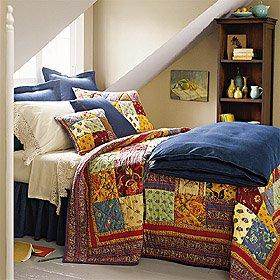 بيع لحاف، أغطية السرير، أغطية وسائد، الجدول الملابس والستائر