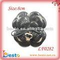 Lf0282 chaud dame vente hiver, décoratif en cuir accessoires de démarrage