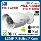 1.3 Megapixel IP IR Bullet Camera POE ONVIF2.0 dahua IPC-HFW2100