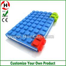 2013 new design A6 silicone waterproof silicone book cover