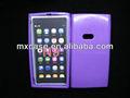 cep telefonu kılıfı TPU şeker Nokia N9 için içinde tasarım dış parlak mat
