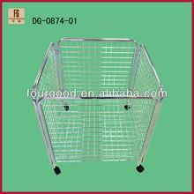 Iron Chrome Shopfitting Wire Mesh Basket for balls (DG0875)
