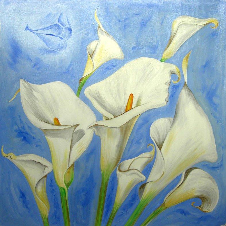 Tulipanes pinturas