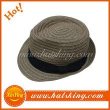 2015 High quality wholesale custom hats fedora brand