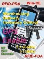 RFID + Barcode + PDA + GPS-Communication Wi-fi, GPRS