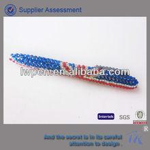 Glinting diamond metal ball pen for promotion,gift diamond pen