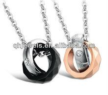 Chine gros de naissance anneau pendentif
