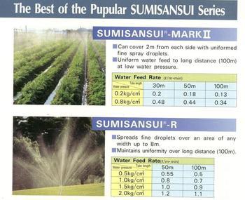 Sumisansui Irrigation System
