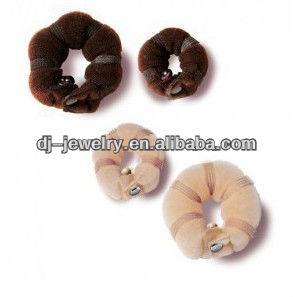 ... Tool, Soft Hair Bun Ring Donut Forner Styling Style Design Salon Tool