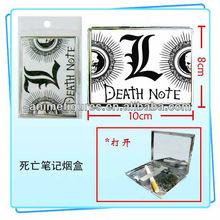 Metal Death Note cigarette case / cigarette box