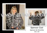 Spencer Chinchilla Fur coat