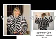 Spencer Chinchilla Fur coat