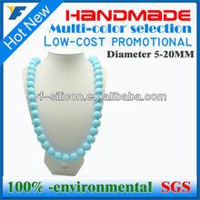 Silicone Bead Necklace&Chew Baby Teeth Necklace&Silicone Necklace Baby